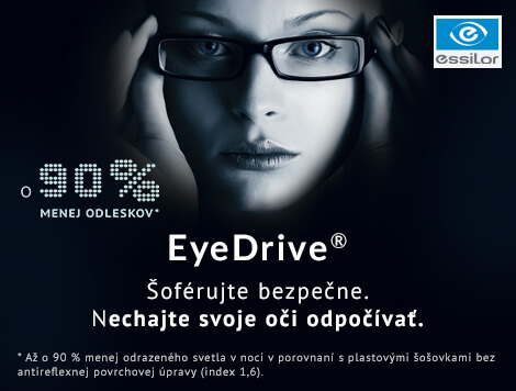 EyeDrive – inovácia pre všetkých vodičov