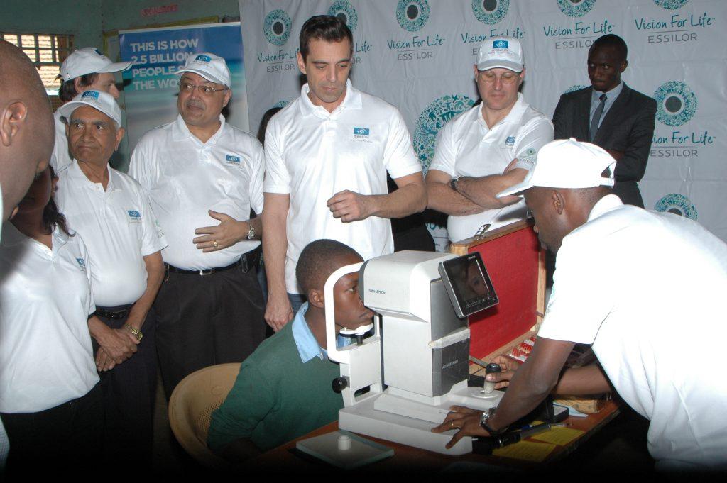 Essilor See Change pomáha k lepšiemu zraku tiež deťom v Nairobi