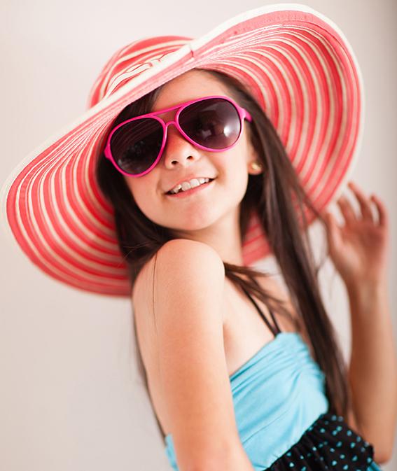 Chráňte oči svojich detí pred slnečnými lúčmi